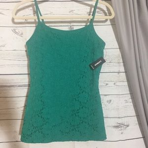 NWT Express Lace Shelf Bra Cami